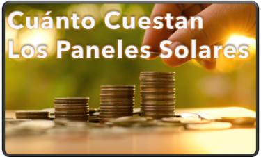 Cuánto Cuestan Los Paneles Solares