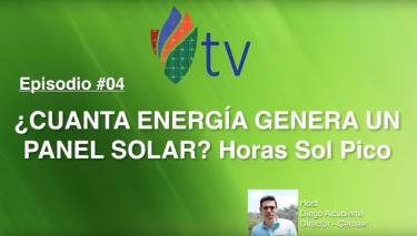 ¿Cuánta Energía Genera un Panel Solar?