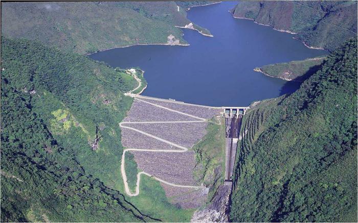 Energía hidroeléctrica chivor
