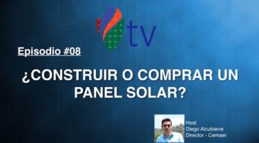 ¿Construir o Comprar un Panel Solar?