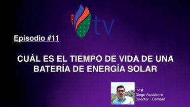 Cuál es el Tiempo de Vida de una Batería de Energía Solar