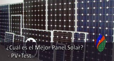¿ Cuál es el Mejor Panel Solar ? – PV+Test