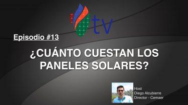 ¿ Cuánto Cuestan los Paneles Solares ?