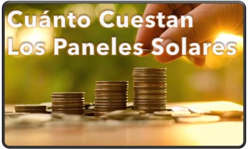 cuanto cuestan los paneles solares