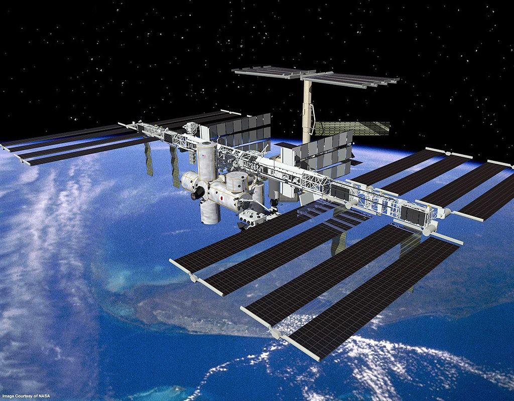 energia solar estacion espacial internacional