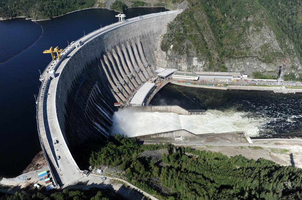 Energía Hidroeléctrica Sayano-Shushenskaya
