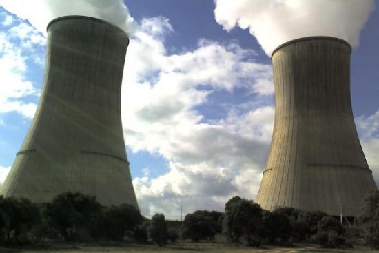 Planta nuclear.